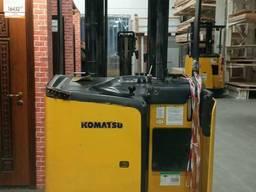 Продам электроштабелер komatsu fb15rl-14, 2008г, 1,2т, 6.5м.