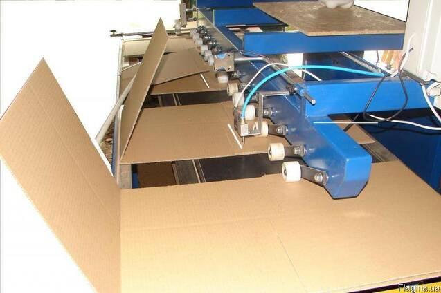 Продам фальцевально-склеивающее оборудование для гофротары.