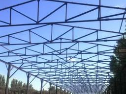 Закупаем фермы металлические БУ 8-36 метров. Ангары, конструкции.