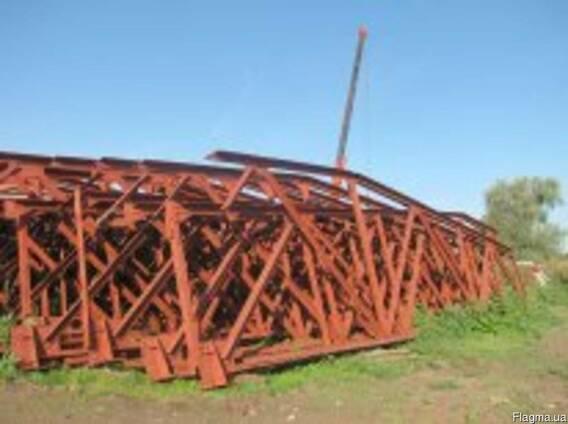 Продам фермы - металлоконструкции