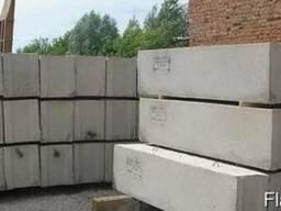 Продам фундаментные блоки 30,40, 50 б/у
