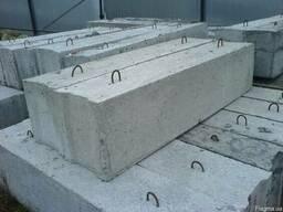 Фундаментні блоки, плити перекриття