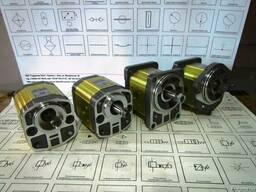 Шестеренные гидромоторы Bosch, Parker, Casappa для сеялок