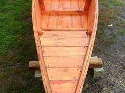 Продам изготовлю деревянную лодку, промышленный баркас