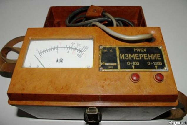 Продам измерители полного сопротивления изоляции М4124