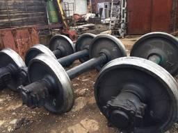 Продам колесные пары жд, бу, ремонтопригодные