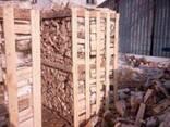 Продам колотые дрова в ящиках. - фото 1