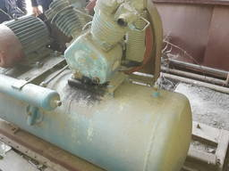 Продам компрессор мощный с электродвигателем 7. 5 квт на 3000