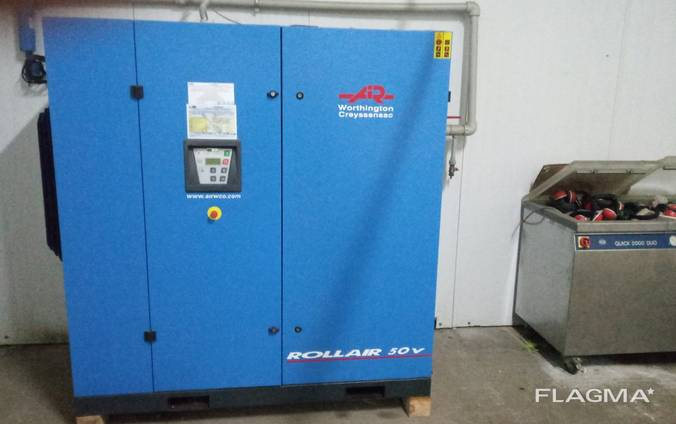 Продам Компрессор Worthington RLR 50 V7 (5,76 м3/мин, 9,5 б