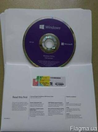 Продам лицензионный Windows Professional 10 OEM(Box)RUS/ENG