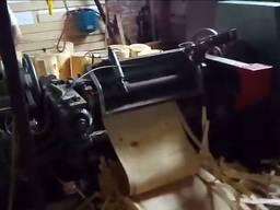 Лущильный для производства ящиков и шпона