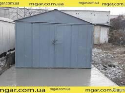 Продам металлический гараж. Толщина металла 2 мм.