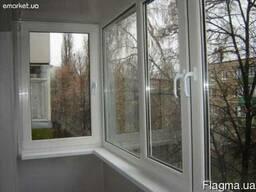 Продам металопластиковые окна ,балконы,двери под ключ