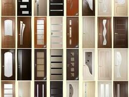 Продам межкомнатные двери ПВХ, МДФ 60, 70, 80, 90 см.