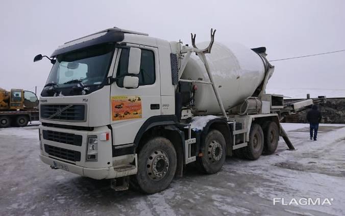 Продам міксер (бетономішалка) Volvo 9м3, зі стрічкою 16 метрів