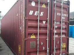 Продам морской контейнер 40 футовый б/у