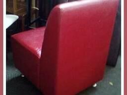 Продам мягкие бу кресла для кафе. Бу мягкая мебель.
