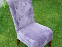 Продам мягкие фиолетовые стулья б/у для кафе, баров
