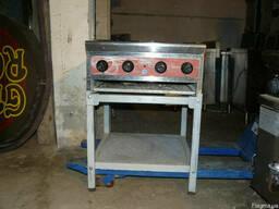 Продам б. у. плиту газовую промышленную 4-х ком CustomHeat ТТ4