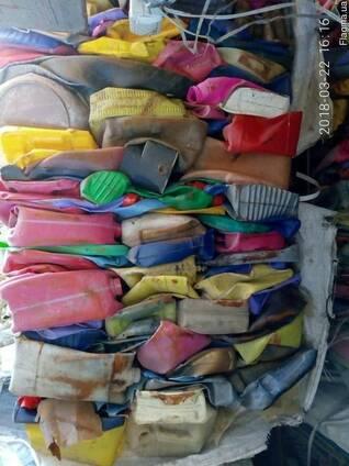 Продам отходы пнд 7т( в тюках)(канистра. флакон)