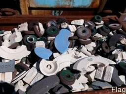 Продам отходы шлифовальных кругов 14 тн.