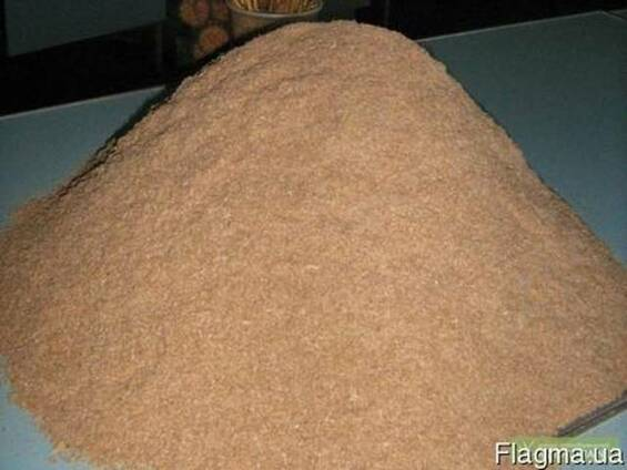Продам отруби (высевку) пшеничные, крупные (пушные) фасовка