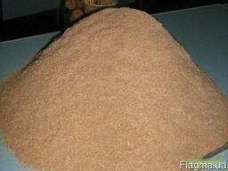 Продам отруби (высевку) пшеничные, средней фракции 18кг/меш