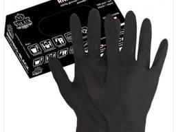 Продам перчатки нитрил черные оптом