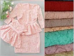 Продам платья из гепюра под заказ мама дочка комплекты