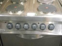Продам плиту профессиональную бу на 2-4-6 конфорки zanussi