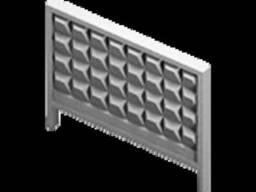 Продам плиту заборную длинна 4 метра высота 2,5 метра