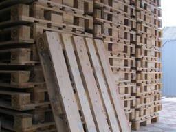 Продам б/у поддоны паллеты деревянные разные