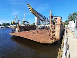 Док-понтон для подъема и ремонта судов