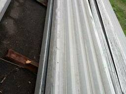Продам профнастил лист бу 6-9 м на 1м толщина 0, 8 мм
