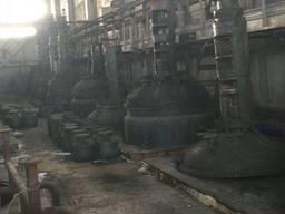 Продам реактор эмалированный 2. 5 и 4 м куб. Б/у