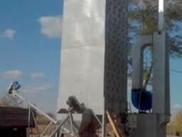 Зерносушилка шахтная ЗСШ (від 3 до 20 т/год) Зерносушарка