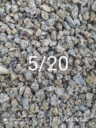 Продам щебень фракции 5/20; 20/40; 0/40; 0/70 т др. Отсев, песок сеяный и мытый