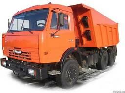 Шлак, чернозем, песок, щебень, вывоз мусора, услуги трактора