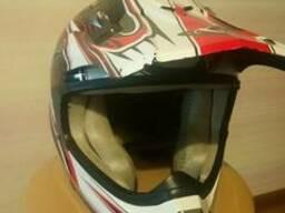 Шлем вело, мото подростковый
