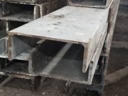 Продам швеллер швелер 24 металл металлопрокат черный б. у