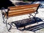 Продам скамейку для улицы - фото 4