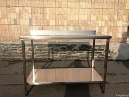 Продам стол металлический производственный стол 1, 4 м