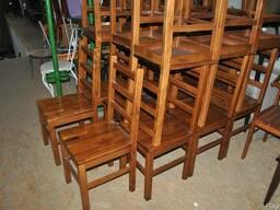 Продам стулья бу из натурального дерева бук для ресторана