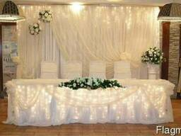 Продам: свадебную арку, ширму, фон за молодыми.