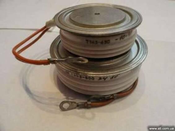 Продам тиристоры Т143-500, Т143-630, Т153-630, Т153-800