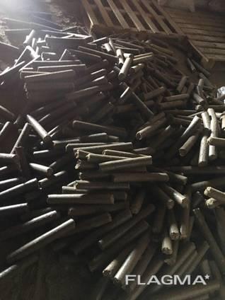 Продам топливные Брикеты и пеллеты. аналог угля и дров.