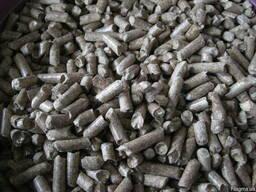 Продам топливные пеллеты гранулы микс из лузги подсолнуха