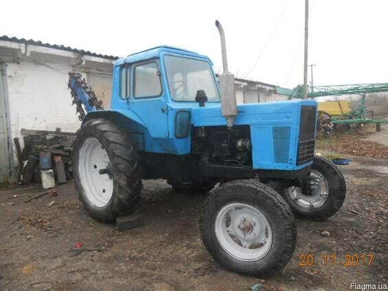 Продам трактор мтз-80 с барой этц-165