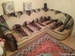 Продам угловой диван и кресло. - фото 2