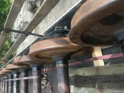 Продам вагонные колесные пары РУ-1Ш (РУ-1) СОНК и б/у
